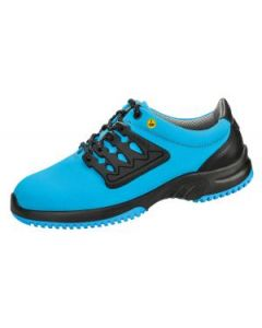 ESD BLUE FUNCTIONAL LEATHER HONEYCOMB PATTERN TRAINER (36762)