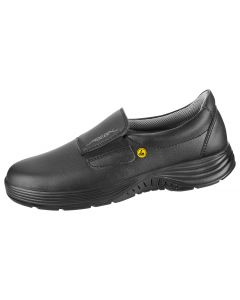 BLACK ESD MICROFIBRE SLIP ON SHOE SRC SLIP BASE (7131129)