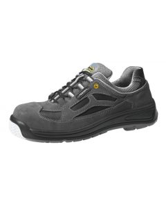 ESD BLACK VELOURS COMPOSITE TOE CAP SAFETY TRAINERS 31366