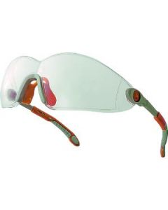 VULCANO CLEAR ERGONOMIC SAFETY GLASSES. POLY CARBONATE LENS BOX 10